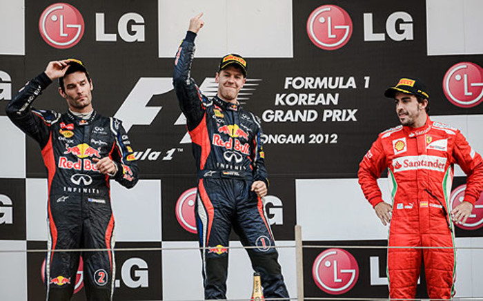 Sebastian Vettel won the floodlit Abu Dhabi Grand Prix by a massive margin on Sunday
