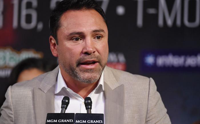 Boxing Hall of Famer Oscar De La Hoya. Picture: AFP