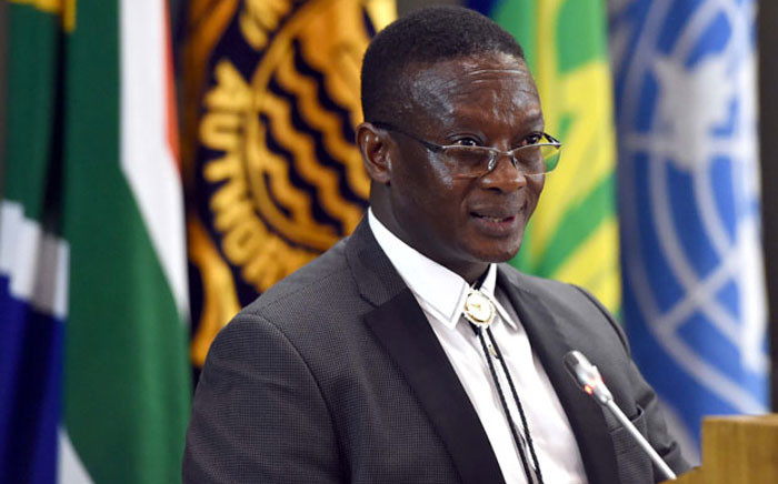 FILE: Deputy Minister of Mineral Resources Godfrey Oliphant. Picture: DIRCO