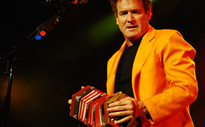 Award-winning singer and songwriter Johnny Clegg. Picture: AFP.