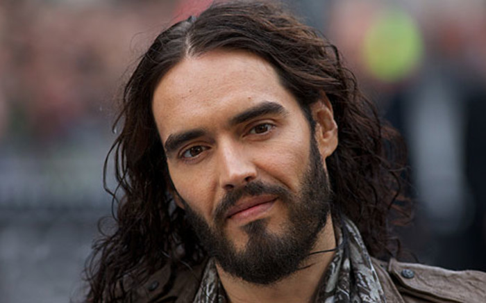 British actor Russell Brand. Picture: AFP