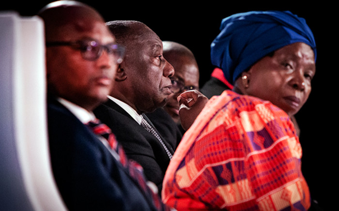 President Cyril Ramaphosa addressed the first day of the Jobs Summit in Midrand on 4 October 2018. Ramaphosa says this summit must respond to the country's economic challenges. Picture: Sethembiso Zulu/EWN