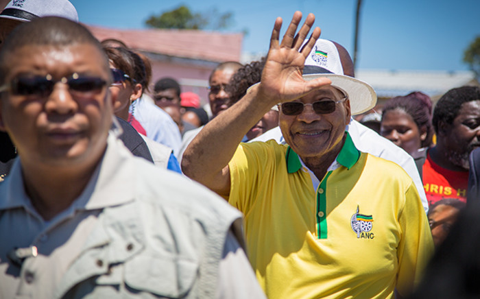 FILE. Zuma and the African National Congress (ANC)'s top six officials have been drumming up support for this weekend's event, which is expected to draw tens of thousands of supporters. Picture: EWN