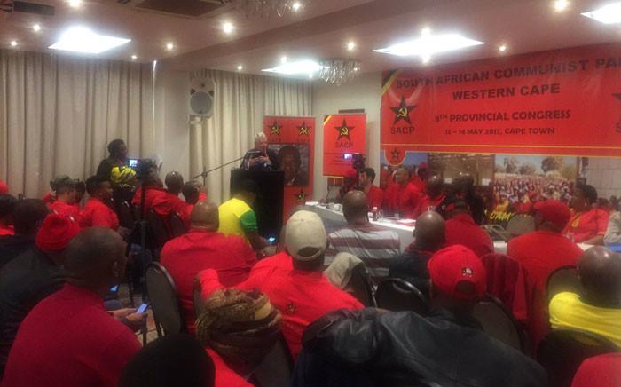 The SACP's Western Cape congress underway in Cape Town. Picture: Xolani Koyana/EWN