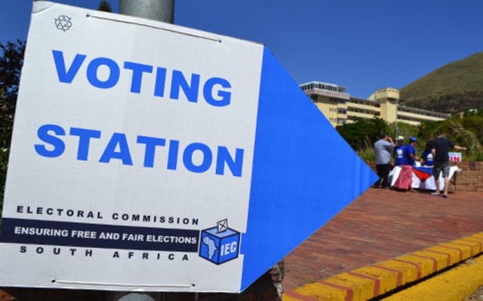 A voting station in Cape Town. Picture: Renee de Villiers/EWN