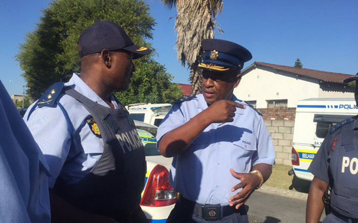 FILE: Newly appointed WC police commissioner Lt Gen Khombinkosi Jula joins Operation Lockdown. Picture: Monique Mortlock/EWN
