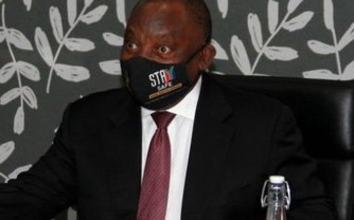 President Cyril Ramaphosa spent the day in the Western Cape to assess the provincial response to the COVID-19 pandemic.The province is the country's COVID-19 epicentre. Picture: Presidency/TWitter