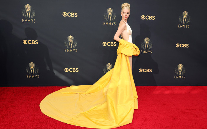 Anya Taylor-Joy attends the 73rd Primetime Emmy Awards on 19 September 2021 in Los Angeles, California. Picture: Rich Fury/Getty Images/AFP