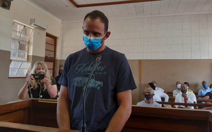 Stefanus Johannes Fourie appeared in the Senekal Magistrates Court on 19 October 2020 where he was granted bail. Picture: EWN