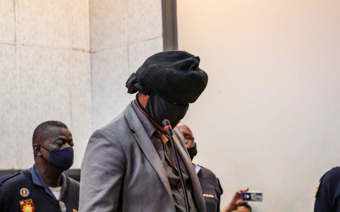 FILE: Police officer Simon Scorpion Ndyalvane appears in the Protea Magistrates Court on 31 August 2020 in connection with the shooting death of 16-year-old Nathaniel Julies in Eldorado Park. Picture: Kayleen Morgan/Eyewitness News