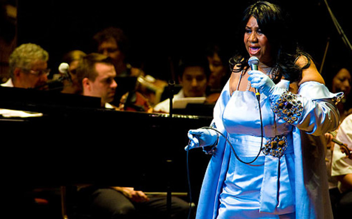 Aretha Franklin. Picture: AFP