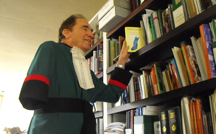Former Constitutional Court Justice Albie Sachs. Picture: EWN.
