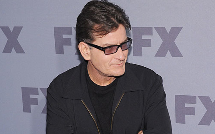 Actor Charlie Sheen. Picture: AFP