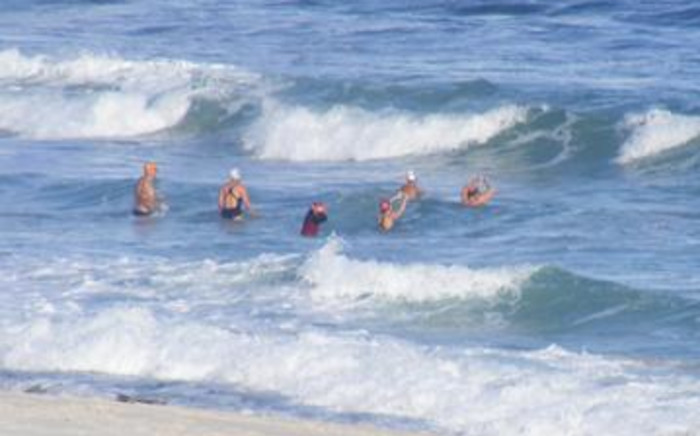 People swimming in one of Cape beaches. Picture: EWN