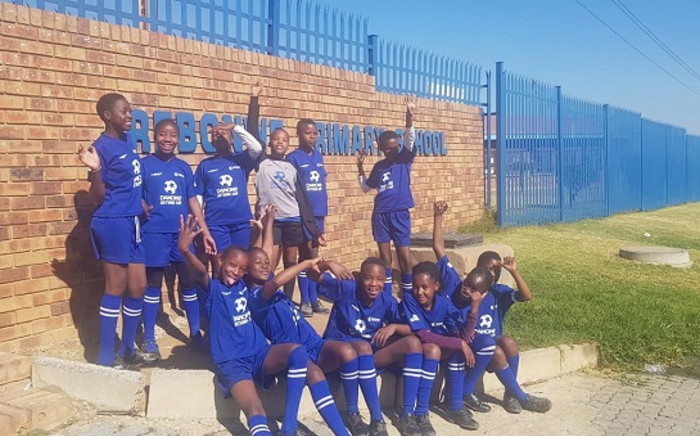 Rebonwe girls from Gauteng and KZN's Muzuvukile boys who will be travelling to Spain to participate in the Danone Nations Cup world finals this year. Picture: DanonNationsCup/Facebook