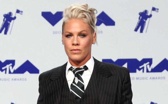 FILE: US singer Pink. Picture: AFP.