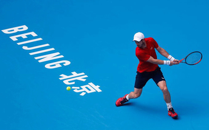Andy Murray at the China Open. Picture: @ChinaOpen/Twitter.