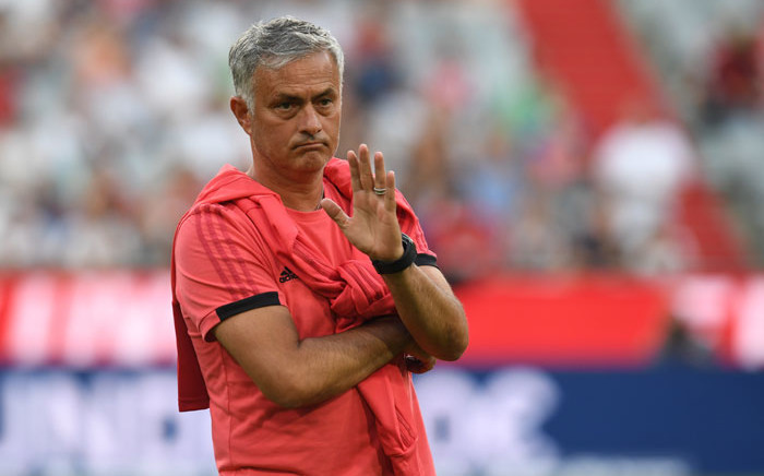 Manchester United manager Jose Mourinho. Picture: AFP