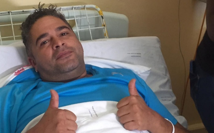 Mortimer Williams, who was injured during the Melville shooting, says he's grateful for a second chance at life. Picture: Ahmed Kajee/EWN.