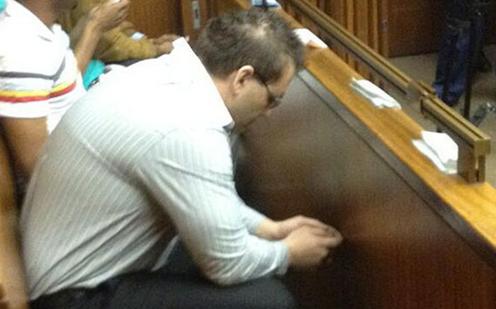 Roedolf Viviers appears in court in connection with Muhammed Kazi's murder on 25 March 2013. Picture: Shain Germaner/EWN