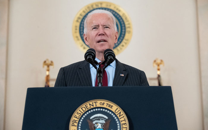 FILE: US President Joe Biden. Picture: AFP