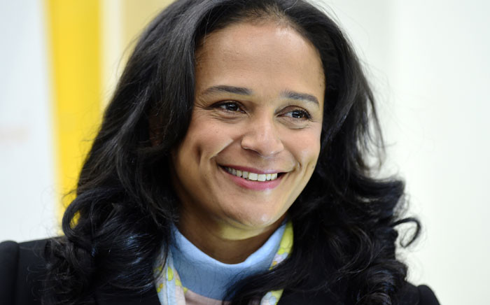 FILE: Angolan businesswoman Isabel dos Santos visits the newly started EFACEC Portuguese corporation's electric mobility industrial unit on 5 February 2018 in Maia. Picture: AFP