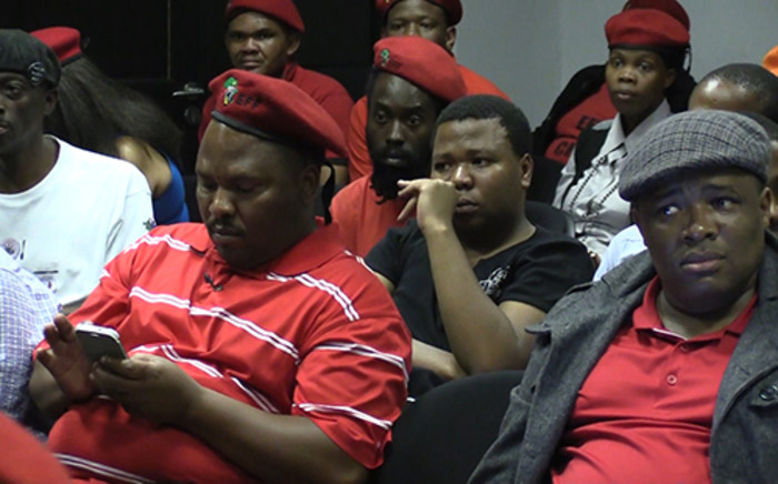 EFF's Gauteng Premier Candidate, Adv. Dali Mpofu is wooing marginalised groups in society to vote for the party. These include the disabled and gays and lesbians.