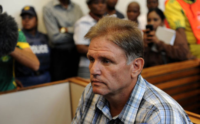 The 'Modimolle Monster' Johan Kotze, on trial for torturing and mutilating Ina Bonnette, orchestrating her gang-rape, and murdering her son. Picture: EWN
