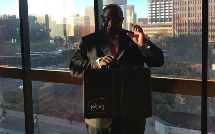 Johannesburg's Finance MMC Rabelani Dagada. Picture: @CityofJoburgZA/Twitter