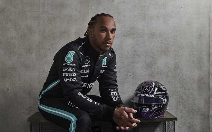 Seven times F1 world champion Lewis Hamilton. Picture: @MercedesAMGF1/Twitter