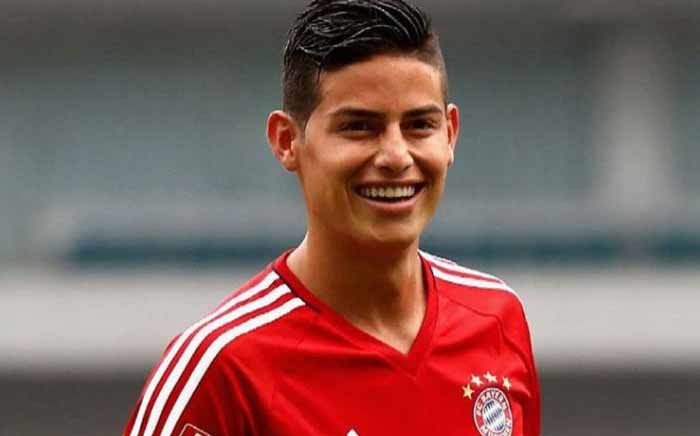 New  Bayern Munich loan signing James Rodriguez. Picture: Twitter/@jamesdrodriguez