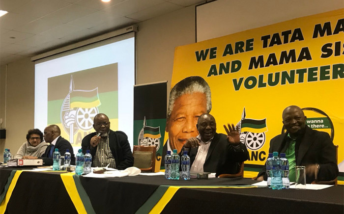 The ANC's national executive committee (NEC) met on Monday 18 June 2018 at the Saint George's Hotel. Picture: Clement Manyathela/EWN.