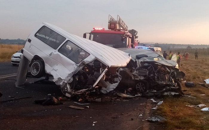 Several other patients were found with injuries ranging from minor to critical. Picture: @ER24EMS/Twitter
