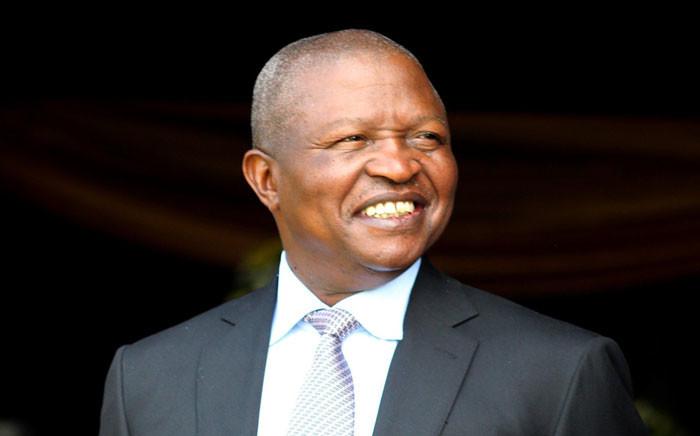 Deputy President David Mabuza at the Mpumalanga Show on 31 August 2019. Picture: @PresidencyZA/Twitter