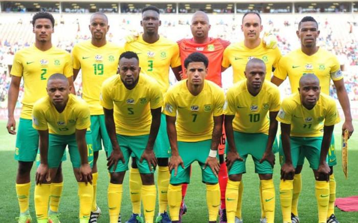 Bafana Bafana. Picture: Facebook.com.