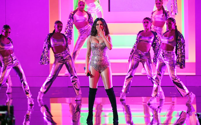 Selena Gomez performs onstage during the 2019 American Music Awards at Microsoft Theater on 24 November 2019 in Los Angeles, California. Picture: AFP