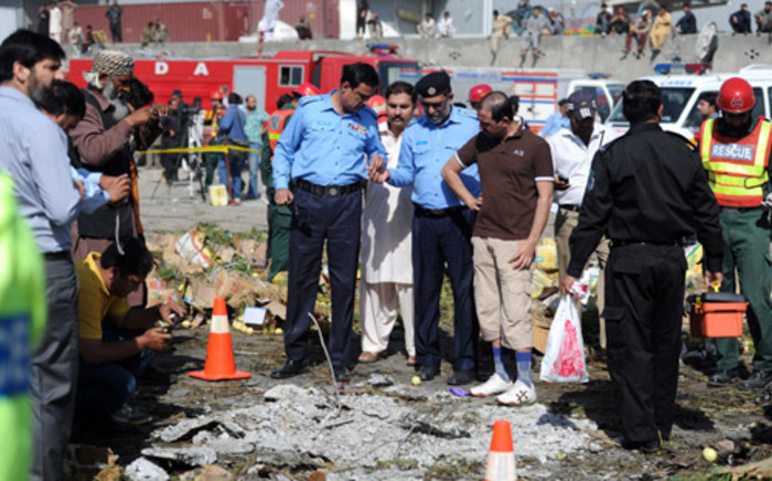 FILE: Senior police officer said unknown people had planted a bomb on a motorcycle and parked it near police HQs. Picture: AFP.