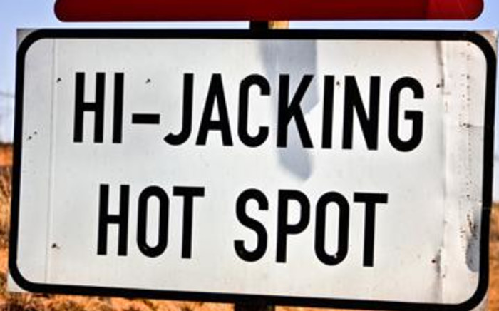 Hijacking hot spot sign.Picture: Stock.xchng