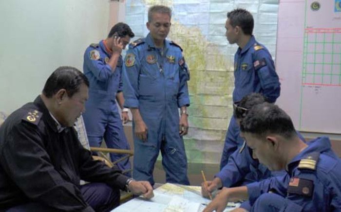 A dozen countries are taking part in the search, with 42 ships and 39 aircrafts involved. Picture: AFP.