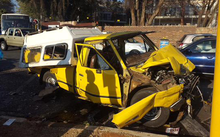 FILE: At least 10 people have been injured in a taxi accident on Beyers Naude Drive. Picture: Supplied.
