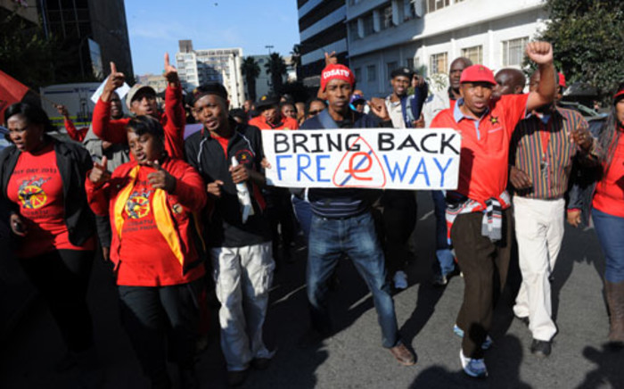 FILE: Cosatu has denied claims strikes are impeding the country's economic growth. Picture: Sapa.