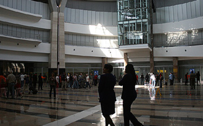 The international arrivals terminal at Oliver Tambo International Airport in Johannesburg. Picture: EWN.
