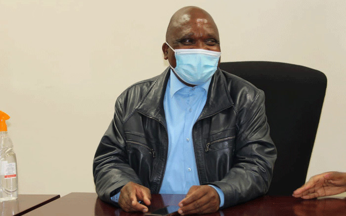 Minister of Health Joe Phaahla. Picture: @HealthZA/Twitter.