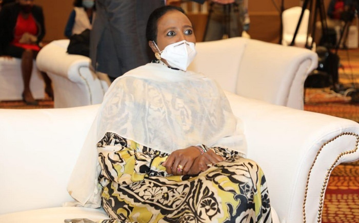 Dr Amina Mohamed. Picture: @AMB_A_Mohammed/Twitter