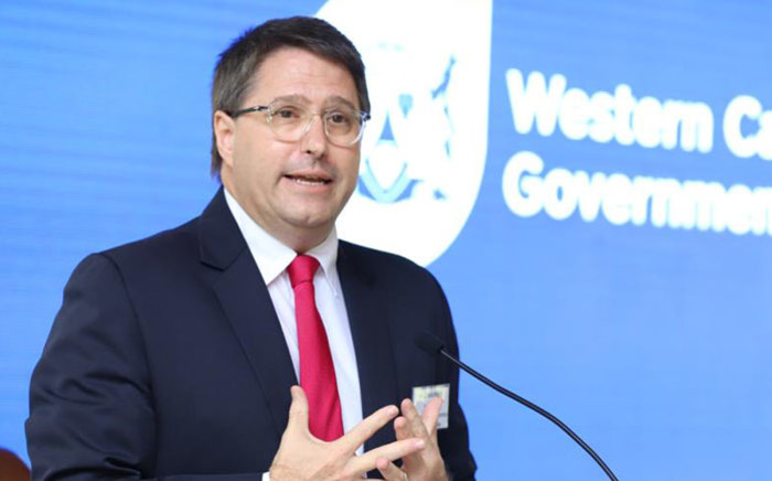 Western Cape MEC of Finance & Economic Opportunities David Maynier. Picture: @DavidMaynier/Twitter