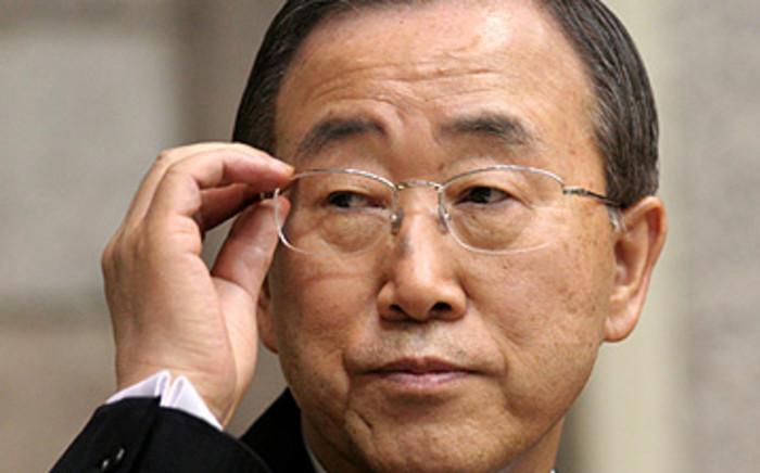 UN Secretary-General Ban Ki-moon. Picture: AFP