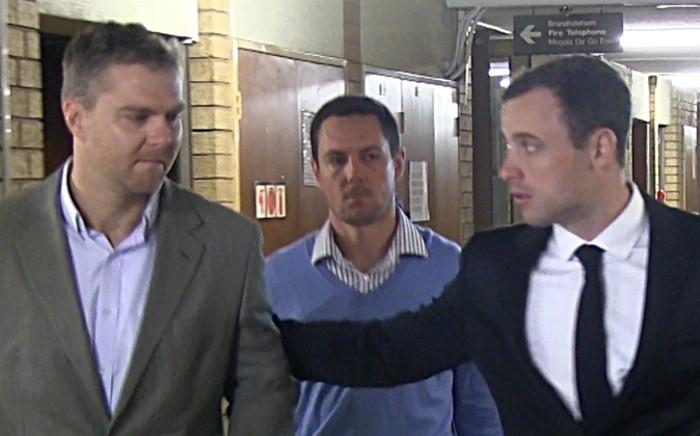 Murder accused Oscar Pistorius. Picture: Reinart Toerien/EWN