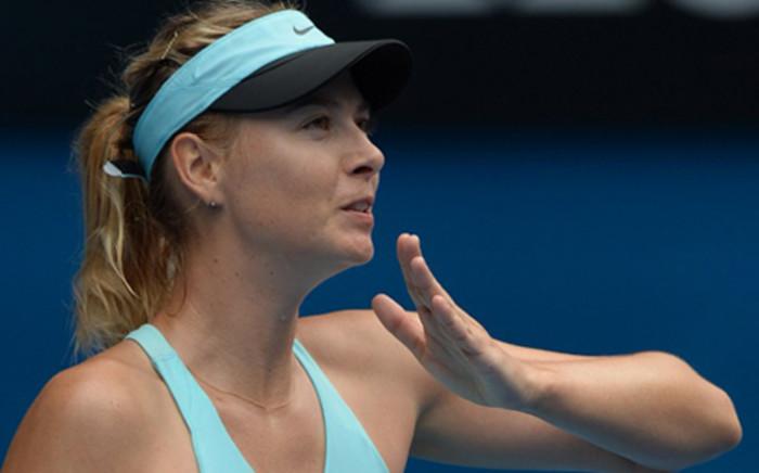 Maria Sharapova. Picture: AFP.