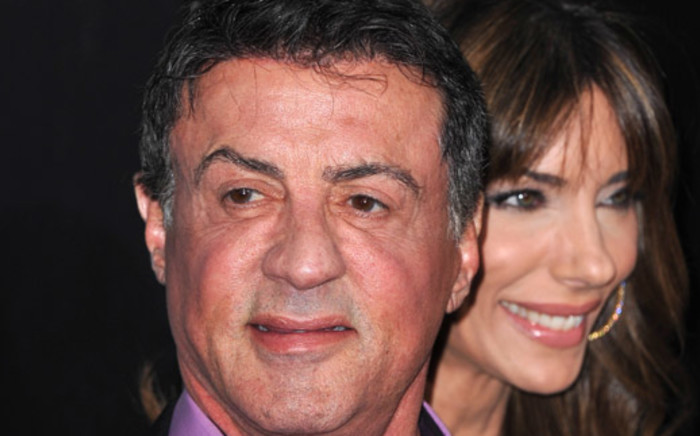 US actor Sylvester Stallone. Picture: AFP