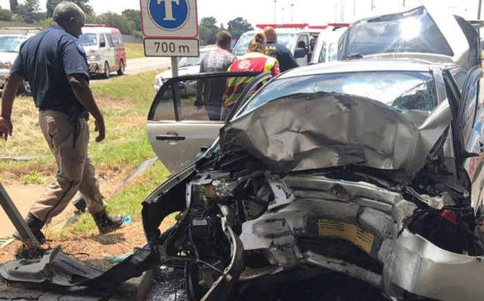 Mother and daughter have been killed in N17 collision. Picture: @ER24EMS.